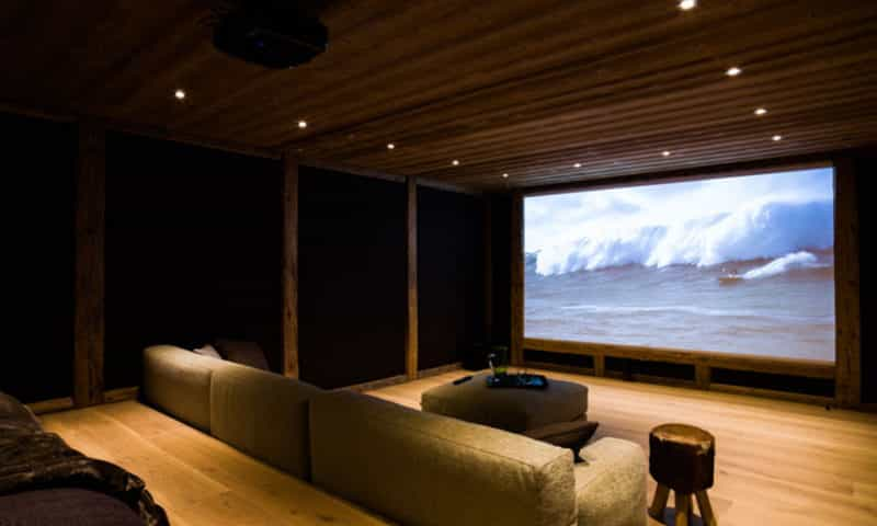 cinema-in-chalet