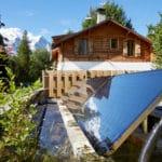 Thermal panels - Marmotte Mountain Eco Lodge