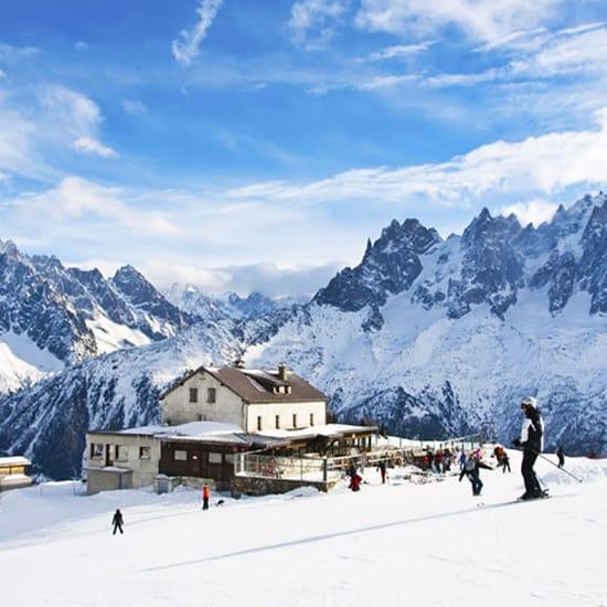 image of ski mountain range