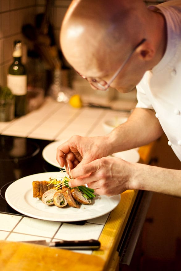image of a chalet chef