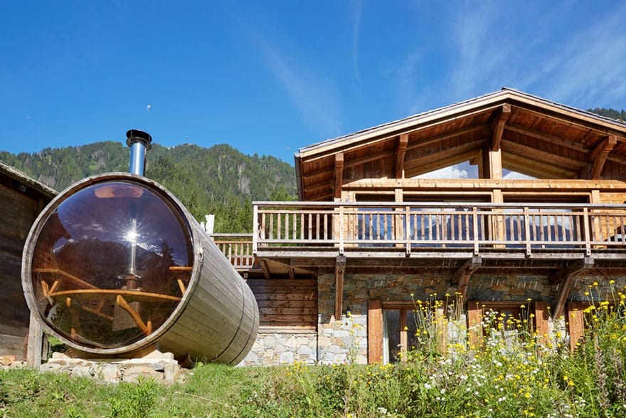 image of Marmotte Mountain eco lodge chalet