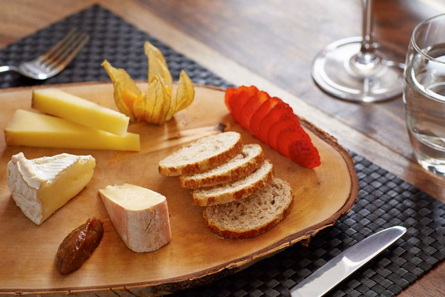 image of a cheese board