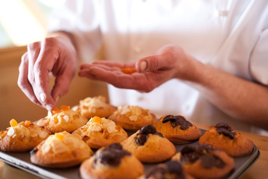image of baked muffins