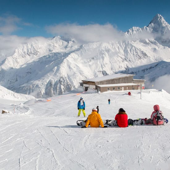 image of people on ski slope