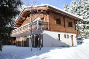 photo of a luxury chalex in Chamonix