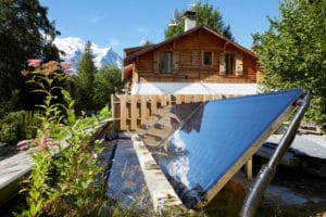 Thermal panels - Marmotte Mountain Eco Lodge