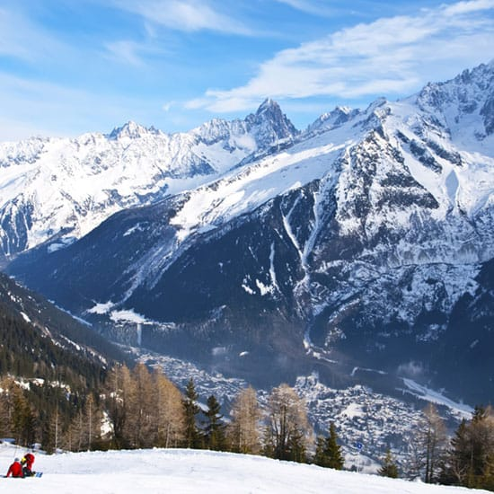 Image of Chamonix mountains