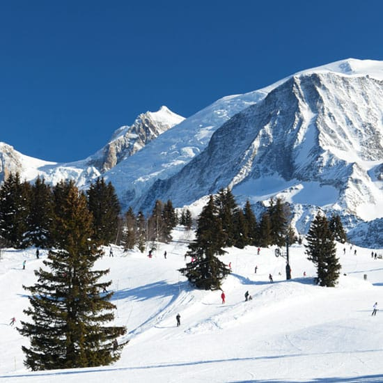 Image of Skiing in Chamonix