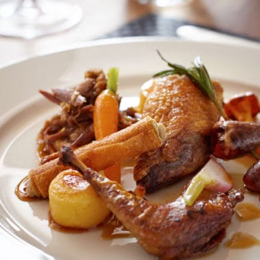 image of cooked duck dish