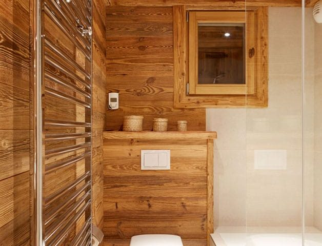 image of a ski chalet bathroom