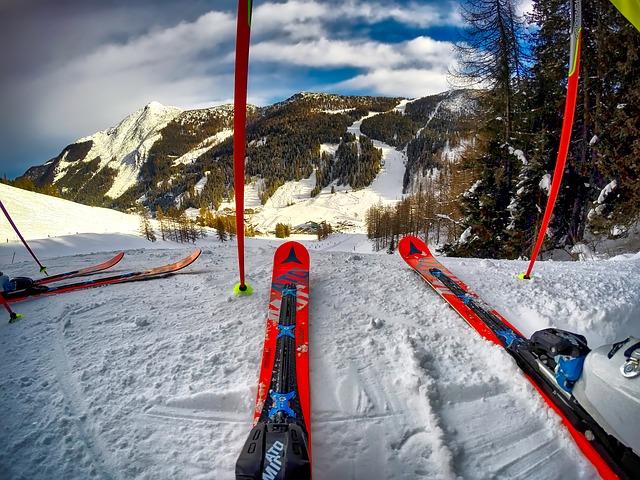 Picture of Ski on a ski slope