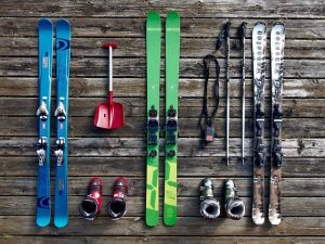 image of ski equipment