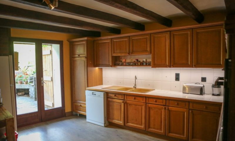 Kitchen from dining 2