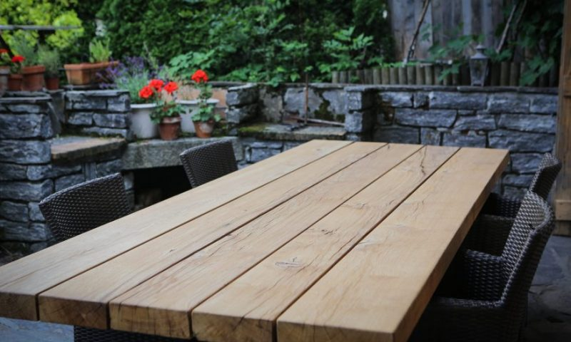 Outdoor dining table 1