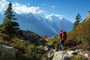 easy trail walkings in Chamonix-mont-blanc